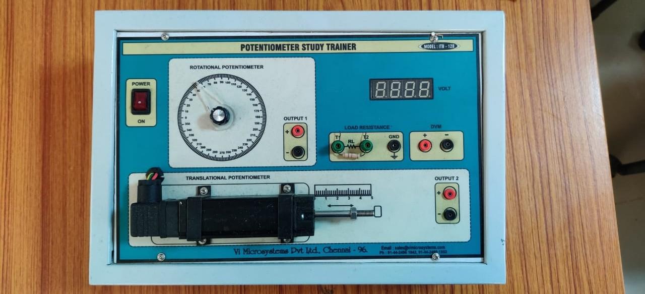 Topic 5  Resistive Input Transducers